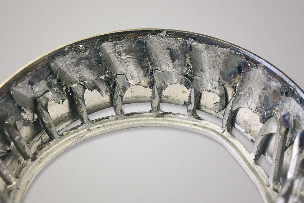 Examples of bearing failures