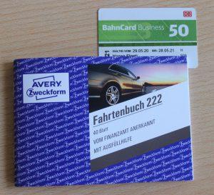 Fahrtenbuch und BahnCard