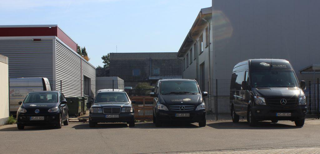 Das Fuhrpark von Elgeti Engineering