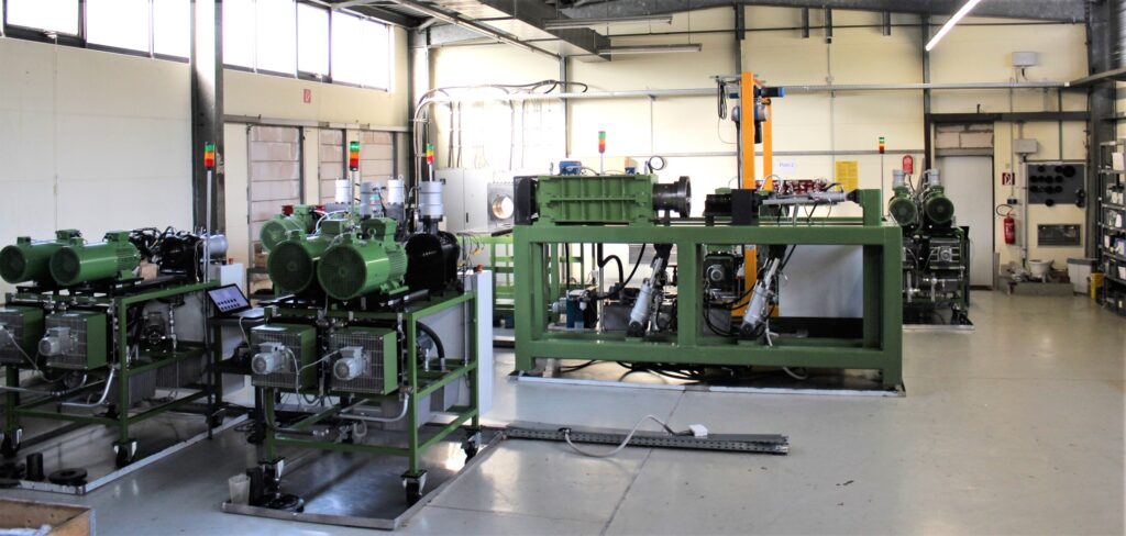 Elgeti Engineering's testing facility and equipment in Aachen