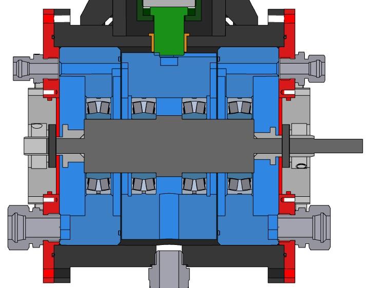 radial shaft test